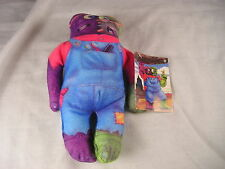 FRANKEN FRANK DR. CRANKENSTEINS CREEPS THE TOY WORKS SOFT PLUSH BEAN MONSTER
