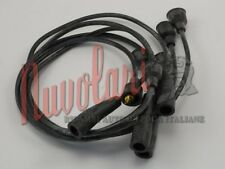 SERIE CAVI CANDELE NERI CAVIS 5 MM PER FIAT 850 SPECIAL BERLINA IGNITION CABLES