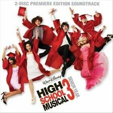 High School Musical 3 CD + DVD Zach Efron, Vanessa Hudgens, Ashley Tisdale NEW