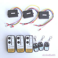 3 x Wireless Winch Remote Control Kit 12V for Truck Jeep SUV ATV