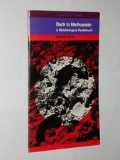 National Theatre Programme 1969 Back To Methuselah Bernard Shaw..