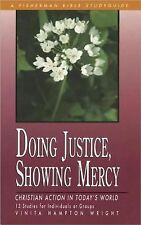 Doing Justice, Showing Mercy: Christian Action in Today's World (Fisherman Bible
