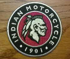 Indian Motorcycles 1901 warrior patch. 3 inch. New