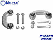 FOR AUDI A4 A6 FRONT ANTIROLL STABILISER LINK RODS PAIR MEYLE C SHAPED 1996-2005