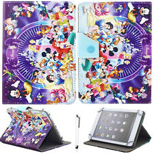 "Universal Cartoon Leather Stand Case Cover For 7""~7.9"" Tablet Kids Children Gift"