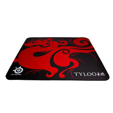 NEW TYLOO Brand SteelSeries QcK Gaming Mouse Pad Mat Red Large Size 450*400*4MM
