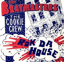 "THE BEATMASTERS FT THE COOKIE CREW ‎- Rok Da House (7"") (VG-EX/EX)"