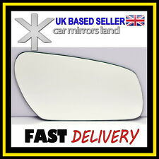 Left Passenger Wing Car Mirror Glass Replacement CONVEX Ford Focus MK2 2004-2008