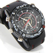 Spy Video Camera Watch Tiny Small Pinhole DVR Hidden Secret Wireless Wristwatch