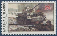 Marshall Islands 1993 World War 2 WW II Scott 330 Kharkov Liberation W56 NH