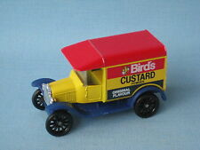 Matchbox Ford Model T Van With Dark Blue Tampo Birds Pre-Pro MB-44