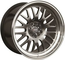 XXR 531 15X8 Rims 4x100/114.3 +20 Chromium Black Wheels (Set of 4)