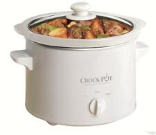 Original Crock-Pot Slow Cooker 2.4 Liter SCCPQK5025W FOR OVERSEAS 220 VOLT ONLY