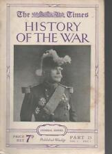 HISTORY OF THE WAR MAGAZINE PART 15 DECEMBER 1 GENERAL JOFFRE LS