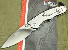 Couteau Enlan High Quality Pocket  Folding knife w/carabiner clip- 9 cm closed