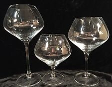 Set of 3 Fifth Avenue Crystal Eva Footed Torches