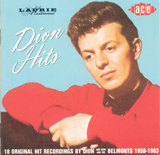 DION & DION AND THE BELMONTS Dion Hits EU Press Ace CDCH 176 1986 CD