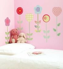 NEW FunToSee™ Wall Stickers Girls Bedroom Nursery Polly Patch Flowers ����