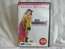Miss Congeniality 2: Armed and Fabulous DVD 2005 Movie PG13 Comedy Free Shipping