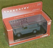 VANGUARDS CORGI DIE-CAST 1/43 SCALE VA 07608 LAND ROVER BLUE