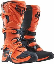 Fox Racing Youth Orange Black Comp 5 Dirt Bike Boots Motocross MX 2017 SIZE 2