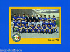 AZZURRI CON IP ITALIA - Merlin - Figurina-Sticker n. - SQUADRA ITALIA 1986 -New