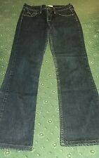 LEVIS 629 BOOTCUT JEANS W27 L27.5 GOOD USED COND have been shortened