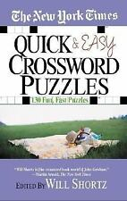 The New York Times Quick and Easy Crossword Puzzles-ExLibrary