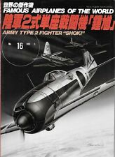 FAOW Famous Airplanes Of The World 16 Nakajima Army Type 2 Single Seat Fighter