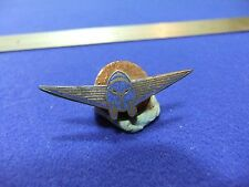 vtg badge aero aviation flying club 1920s 30s aviation lapel aeroplane aircraft