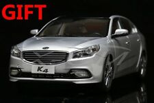 Car Model KIA K4 1:18 (Silver) + SMALL GIFT!!!!!!!!!!!