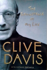 CLIVE DAVIS - THE SOUNDTRACK OF MY LIFE - HARDBACK WITH DUST JACKET