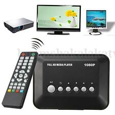 Mini Full 1080P HD Multi Media Player SD/MMC MKV AV YPbPr RM RMVB AVI MPEG USB
