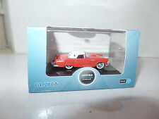 Oxford USA 87TH56004 TH56004 1/87 HO Ford Thunderbird 1956 Fiesta Red / White