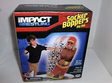 Hulk Hogan.36 Inches Tall Inflatable Socker-Punching Bag,Ages 3+ New- Free 2 US