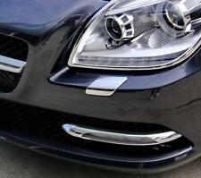 MERCEDES SLK R172 CHROME HEADLIGHT POWERWASH TRIM
