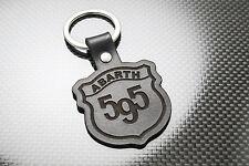 FIAT ABARTH 500 595 Pelle Portachiavi, Portachiavi, Schlüsselring, porte-clés TURISMO