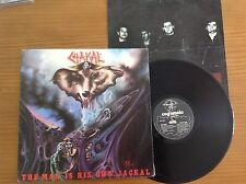 CHAKAL THE MAN IS HIS OWN JACKAL LP BRAZIL 1ST ORIG EDITION INSERT COGUMELO