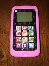 Leapfrog Chat And Count Smart Phone Toy Violet Pink (AH)