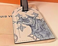 """Louis Vuitton """"Rhino"""" Limited Edition Chapman Brothers Luggage Tag SOLD OUT"""