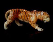 """Vintage Herend Hungary porcelain Bengal Tiger figurine 8.25"""" #5366"""