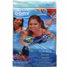 "Disney Pixar Nemo Finding Dory Kids Inflatable 20"" Swim Ring Tube Toy Float NIP"