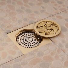 Stainless Steel Kitchen Bathroom Shower Square Deodorize Floor Waste Water Drain