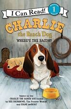 WHERE'S THE BACON Charlie the Ranch Dog An I Can Read level 1 book basset hound