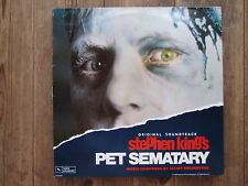 "LP - O.S.T. PET SEMATARY - STEPHEN KING ""TOPZUSTAND!"" very rare !!"