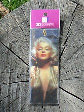 NUOVO Memory Technology segnalibro bookmark 3D Marilyn Gold