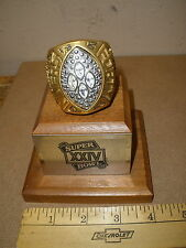 footbal SUPER BOWL XXIV large replica 49ers San Francisco Forty Niners RING