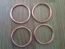 SET of 4 EXHAUST COPPER GASKET SET KAWASAKI Z 750 2007-20013