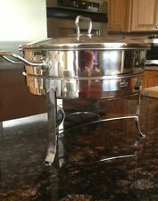 Norpro 18/10 Stainless Steel Chafing Dish w/ Glass Lid