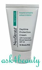 NEOSTRATA RESTORE DAYTIME PROTECTION CREAM 10 BIONIC/PHA SPF 23 1.4 OZ NEW&UNBOX